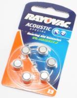 Baterie do naslouchadel V 13 Rayovac