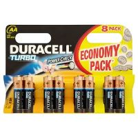 Duracell Turbo Power Check AA 1,5V alkalické baterie