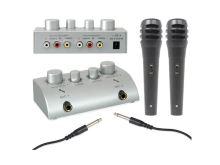 Karaoke set se 2 mikrofony SKYTEC