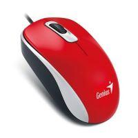 Genius DX-110/ drátová/ 1000 dpi/ USB/ červená, 31010116111