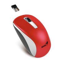 GENIUS NX-7010 WhiteRed Metallic/ 1200 dpi/ Blue-Eye senzor/ bezdrátová/ červená, 31030114111