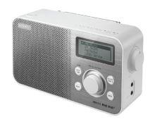 SONY XDR-S60DBP Digitální rádio DAB+/DAB/FM - WHITE, XDRS60DBPW.CED