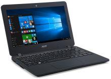 "Acer TravelMate TMB117-M-C877 Celeron N3160/4GB+N/500GB/HD Graphics/11,6"" HD/W7 Prof+W 10 Prof/Matte Black, NX.VCGEC.002"