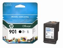 HP CC653AE Ink Cart No.901 pro OJ 4500, J4580, 4ml,  Black, CC653AE