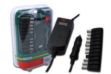 Digitus univerzální cestovní napájecí adaptér pro notebook + USB (12V - 30V) , 90W , DA-10091