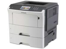 Lexmark MS610dte mono laser, 47 str./min., duplex, síť, dotyk. LCD, druhý zásobník papíru, 35S0570