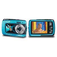 Genius digitální fotoaparát G-Shot 510/ vodotěsný IPX08/ 8MP/ modrý, 32300104101