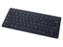 Kláv GEMBIRD KB-BT-001, Bluetooth,  černá, KLA054004