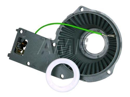 Uložení převodu robotu + džák uhlíku  BOSCH MUM4XXXX  / SIEMENS  00498284