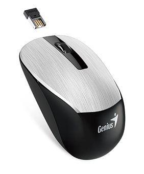 GENIUS NX-7015/ 1600 dpi/ Blue-Eye senzor/ bezdrátová/ stříbrná, 31030119105