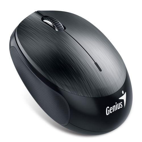 GENIUS NX-9000BT/ Bluetooth 4.0/ 1200 dpi/ bezdrátová/ dobíjecí baterie/ kovově šedá, 31030115100