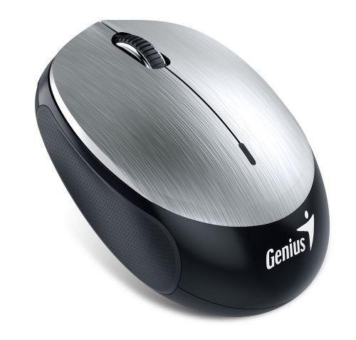 GENIUS NX-9000BT/ Bluetooth 4.0/ 1200 dpi/ bezdrátová/ dobíjecí baterie/ stříbrná, 31030120102