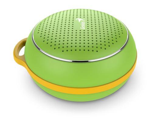 GENIUS repro SP-906BT/ 3W/ Bluetooth 4.1/ dobíjecí/ zelený, 31731070102