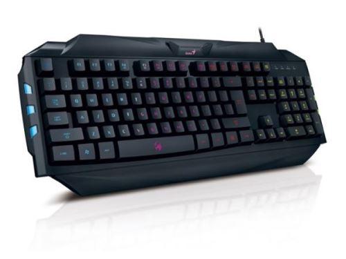GENIUS GX GAMING Scorpion K5/ Drátová/ USB/ černá/ CZ+SK layout, 31310469105