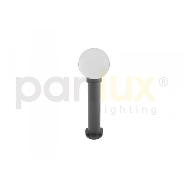 PARK 1 zahradní svítidlo, černá - kouřová (60cm)