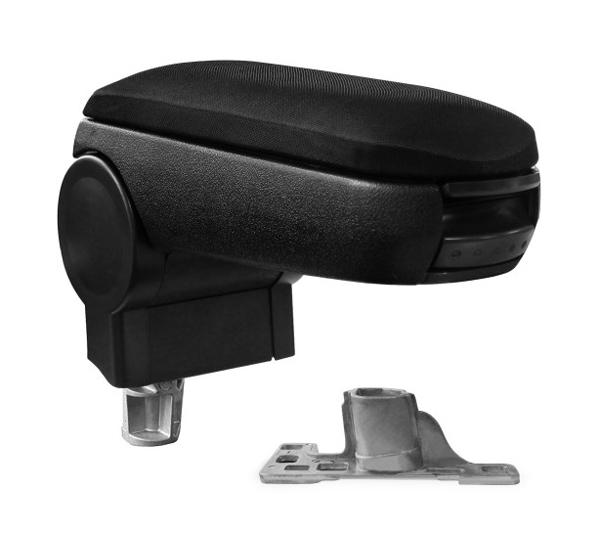 Opěrka loketní AUDI A4 textilní černá
