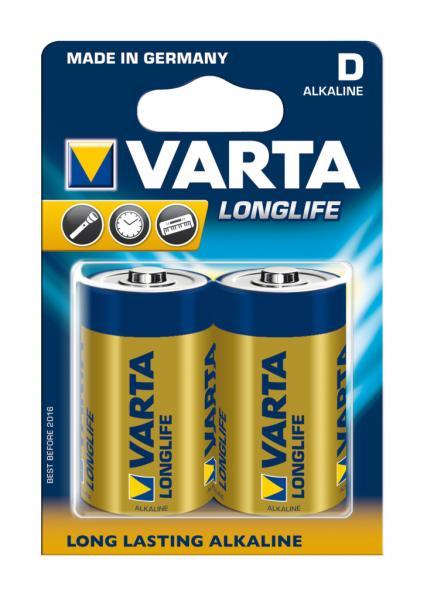 Baterie Varta Longlife LR20/2, D