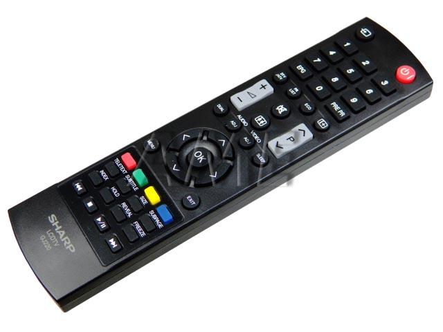 LCDTVGJ220 Dálkový ovladač SHARP originální GJ220 9JR9800000005
