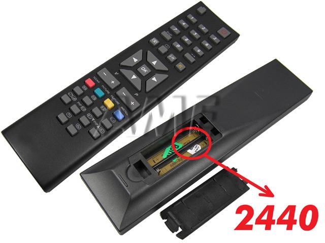 RC2445 Vestel Dálkový ovladač černý