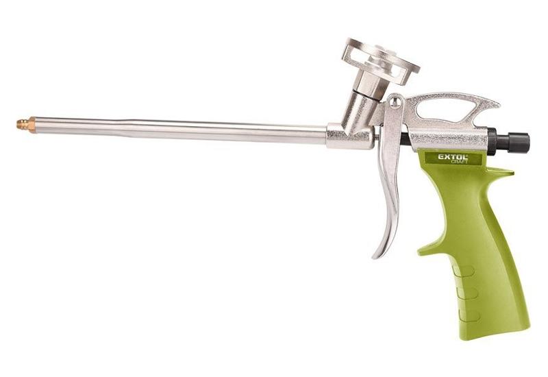 Pistole na PU pěnu, s regulací průtoku, EXTOL CRAFT
