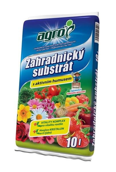 Substrát zahradnický AGRO 10L