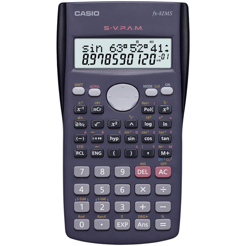 FX 82 MS CASIO