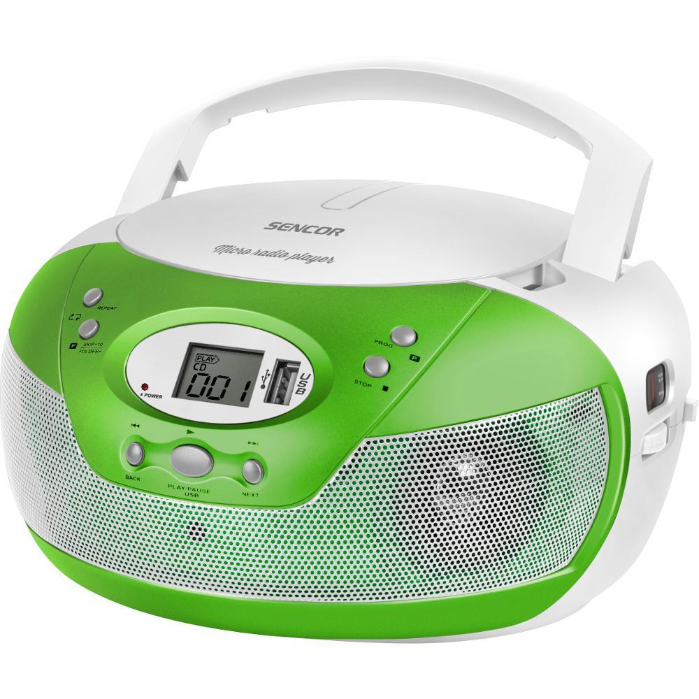 SPT 229 GN RADIO S CD/MP3/USB SENCOR