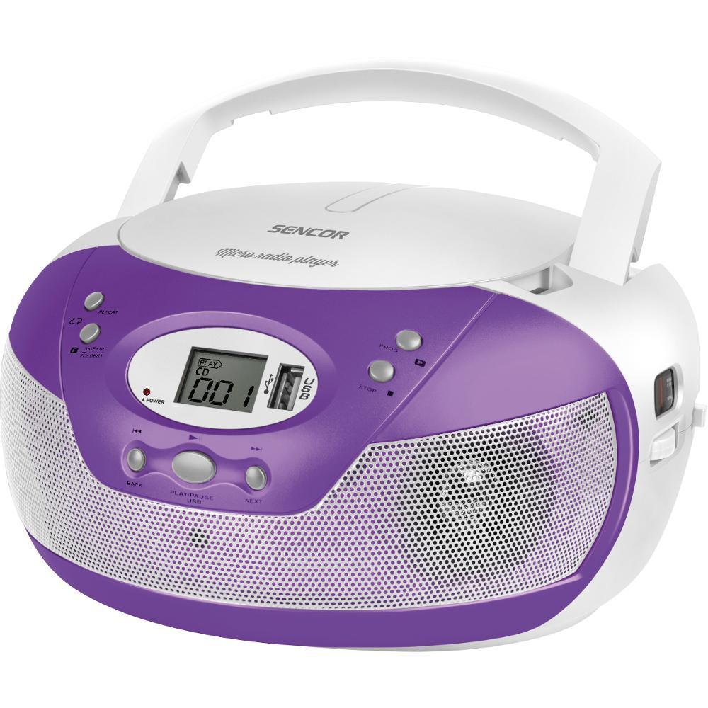 SPT 229 PU RADIO S CD/MP3/USB SENCOR