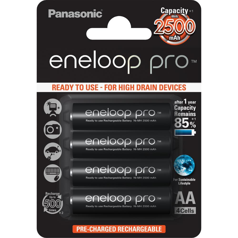 HR6 AA 3HCDE/4BE ENELOOP PRO PANASONIC