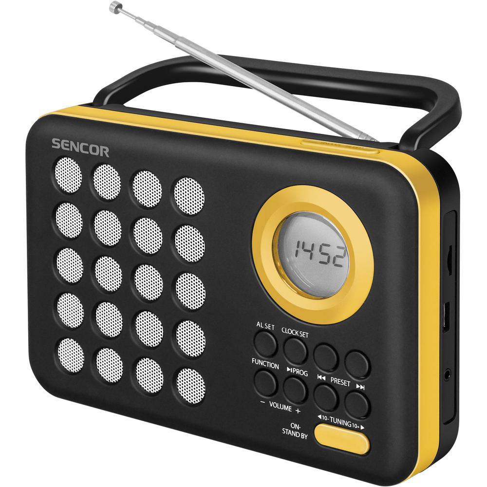 SRD 220 BYL RÁDIO S USB/MP3 SENCOR