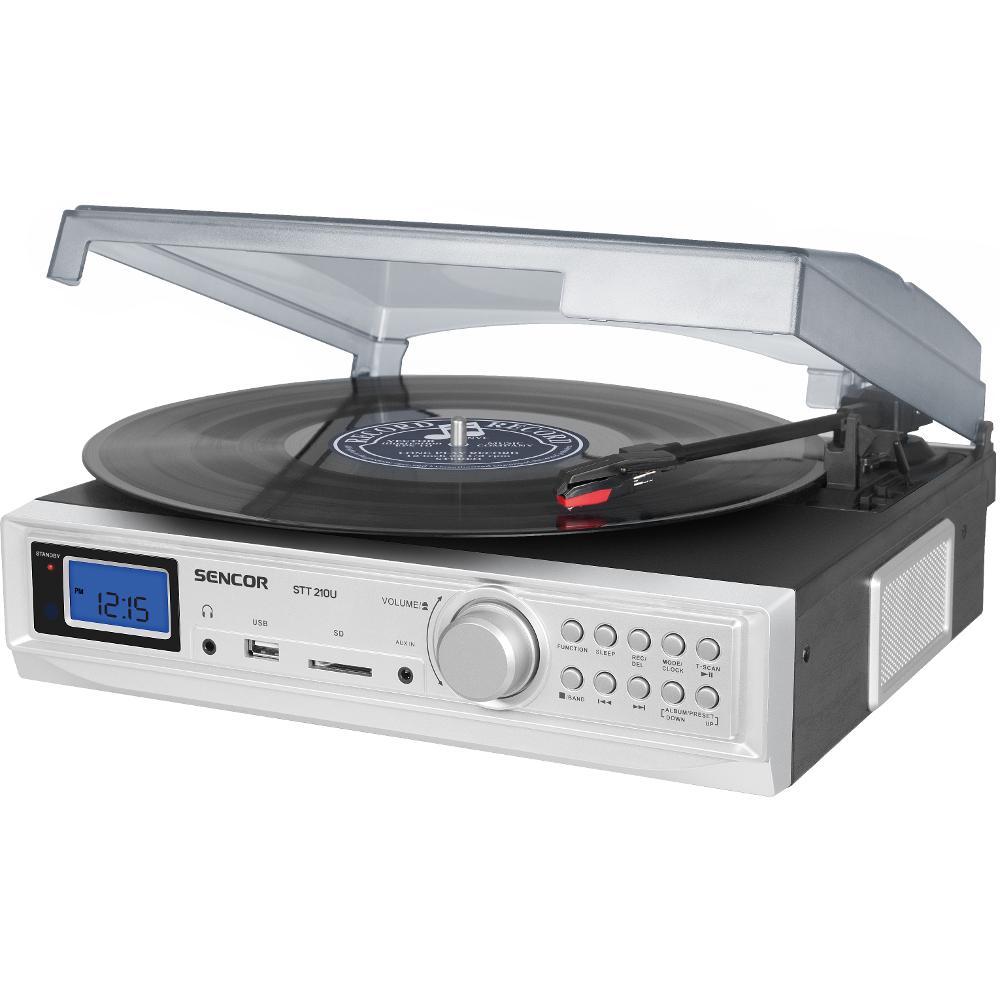 STT 210U GRAMOFON S USB/SD/FM SENCOR