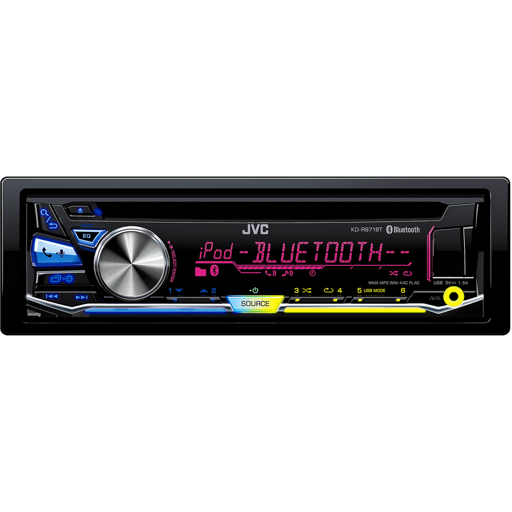 KD R971BT AUTORÁDIO S CD/MP3/BT JVC