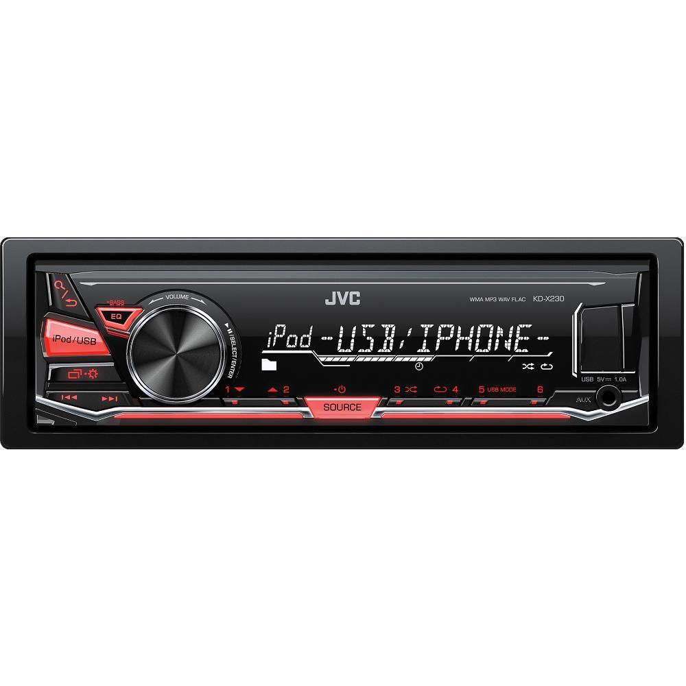 KD X230 AUTORÁDIO S USB/MP3 JVC