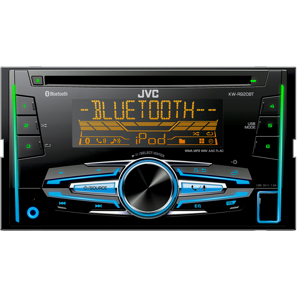 KW R920BT 2DIN AUTORÁD. S CD/MP3/BT JVC