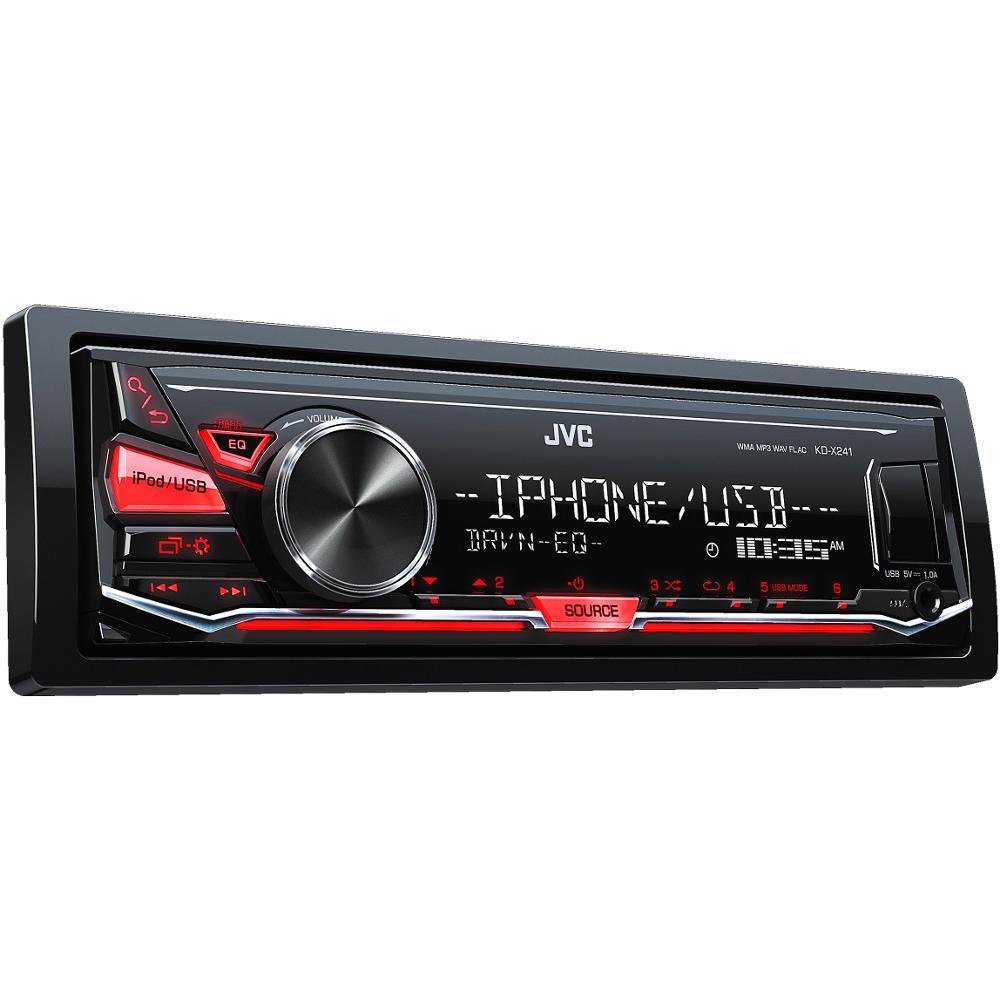 KD-X241 AUTORÁDIO S USB/MP3 JVC