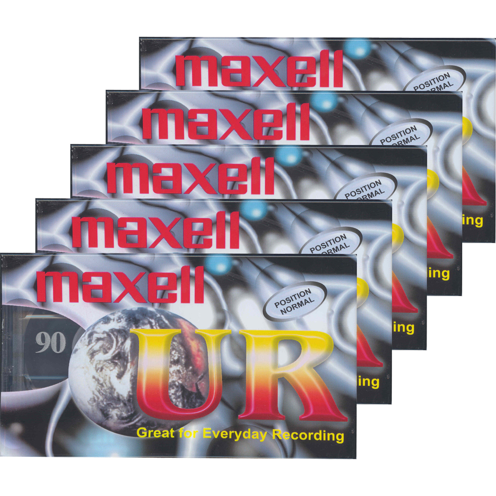 UR 90 audiokazeta 5PK 124036 MAXELL
