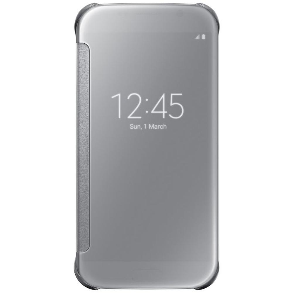 EF ZG920BS Flip Clear S6 Silver SAMSUNG