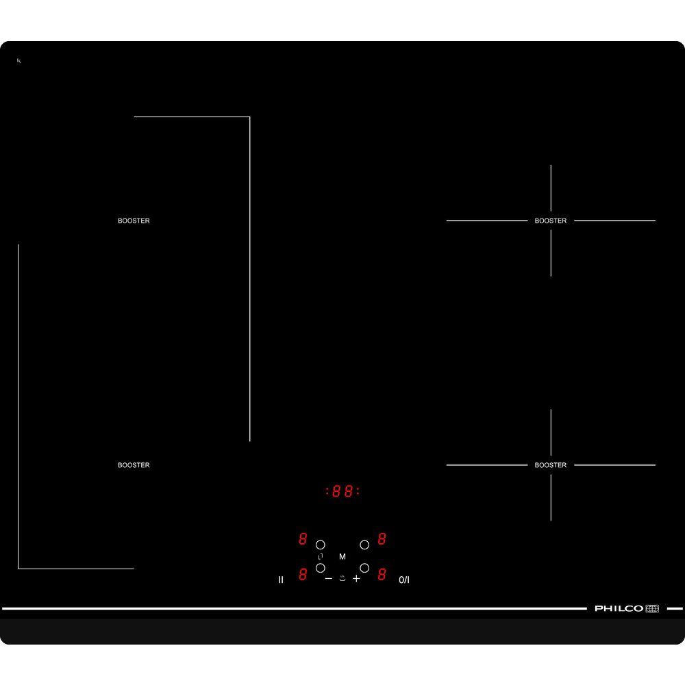 PHD 616 F2C indukční varná deska PHILCO