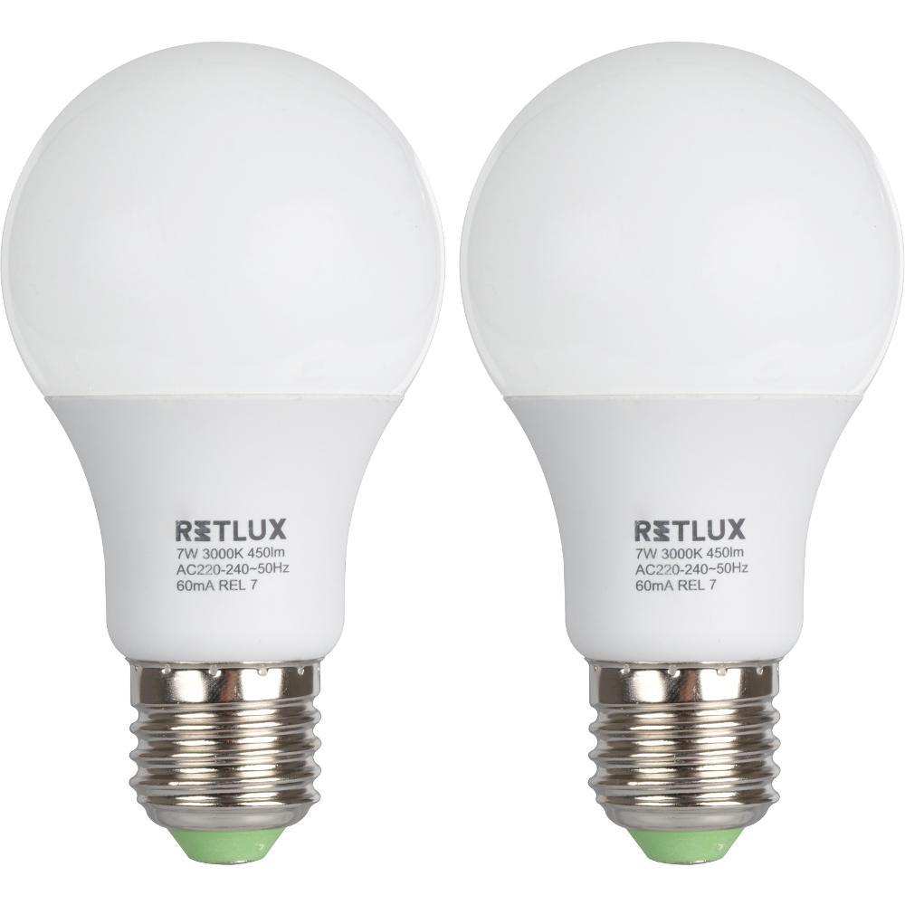 REL 7 LED A60 2x7W E27 RETLUX