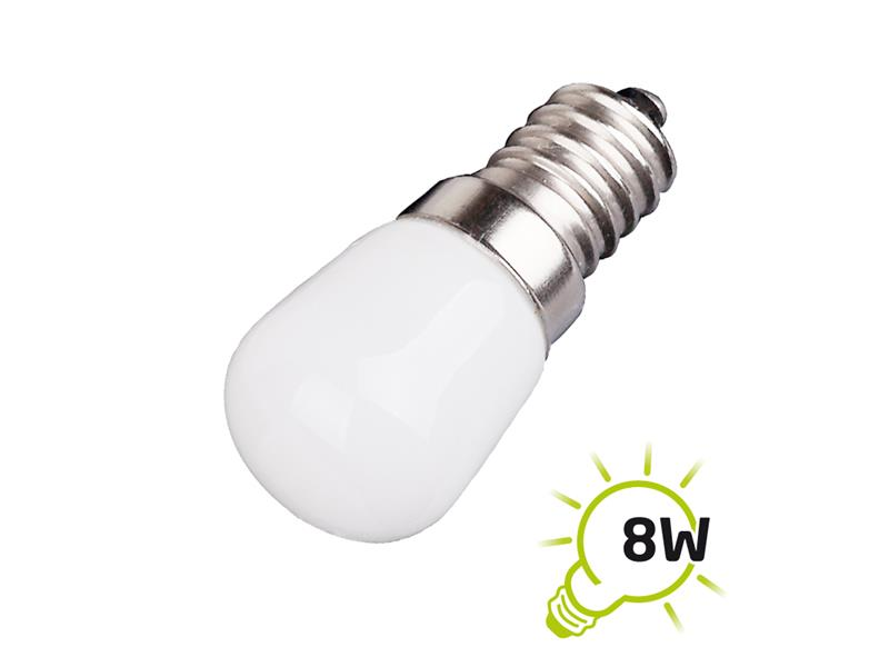 Žárovka LED do lednice a digestoře E14 1.5W bílá teplá TIPA