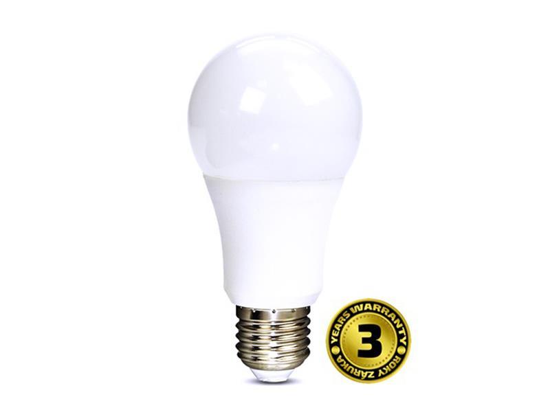 Žárovka LED A60 E27 10W bílá teplá se stmívačem SOLIGHT
