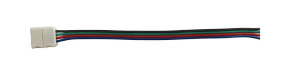 Konektor nepájivý pro RGB LED pásky 5050 30,60LED/m o šířce 10mm s vodičem