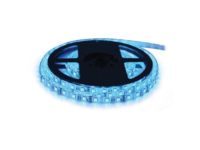 LED pásek 12V 5050 60LED/m IP20 max. 14.4W/m modrá (1ks=cívka 5m)