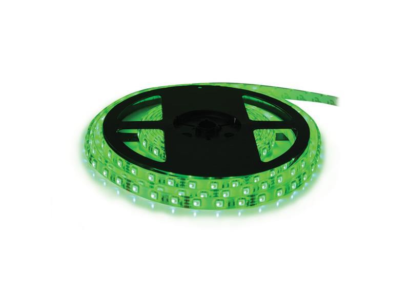 LED pásek 12V 5050 60LED/m IP20 max. 14.4W/m zelená (1ks=cívka 5m)