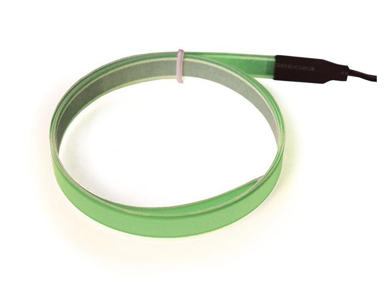 Svítící pásek, 2m, zelený