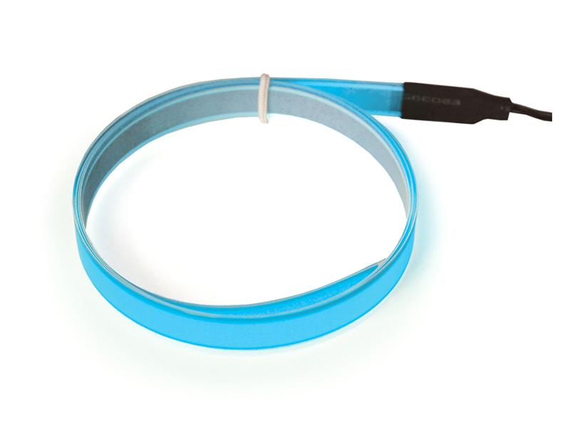 Svítící pásek, 1m, modrý