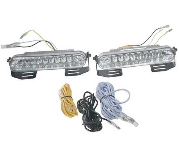 Světla pro denní svícení LED DRL mini 1812, homologace