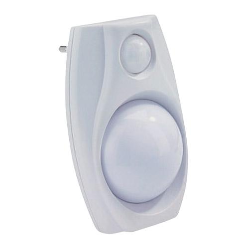 Noční světlo do zásuvky LED s čidlem pohybu+senzor, bílá