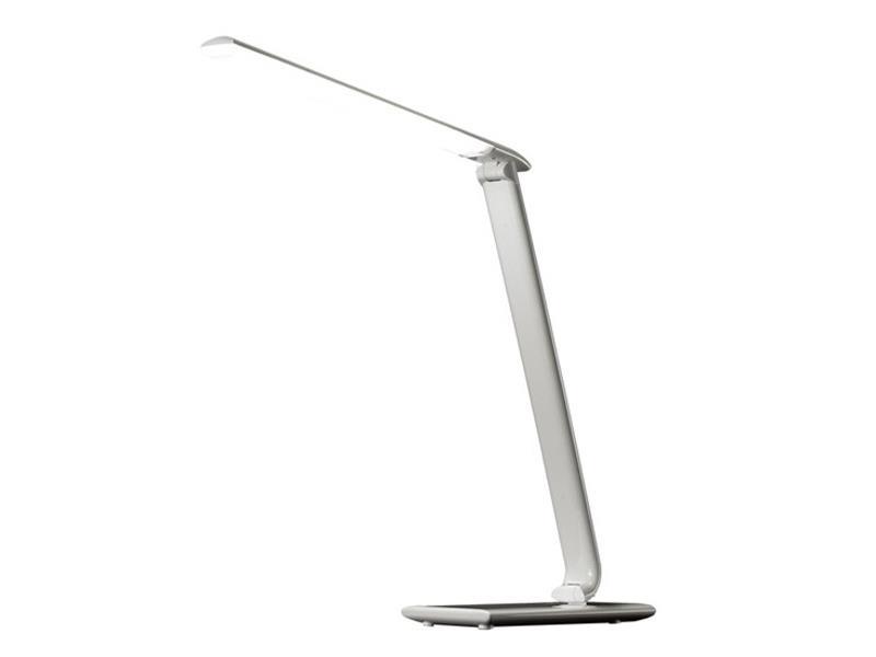 LED stolní lampička stmívatelná, 9W, volba teploty světla, bílý lesk