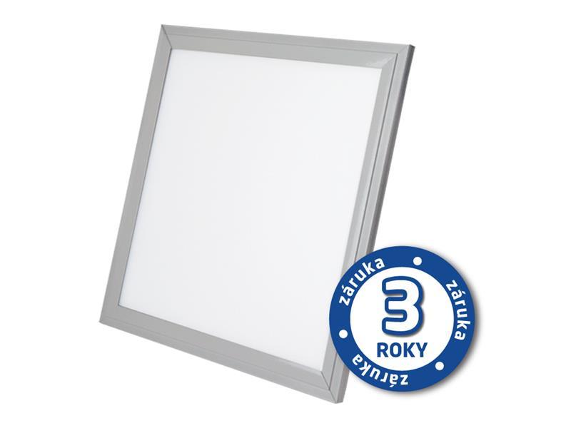 TIPA LED panel, 40W, 60x60cm, 2900lm, 4000K, stříbrný rám, LP04